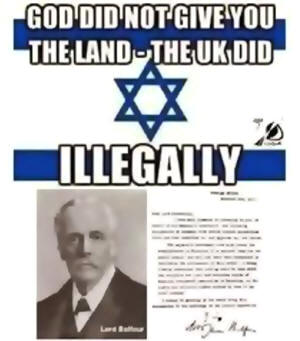 Резултат с изображение за shame on the balfour declaration