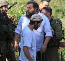Israeli Settlers and Soldiers - File Maan Images