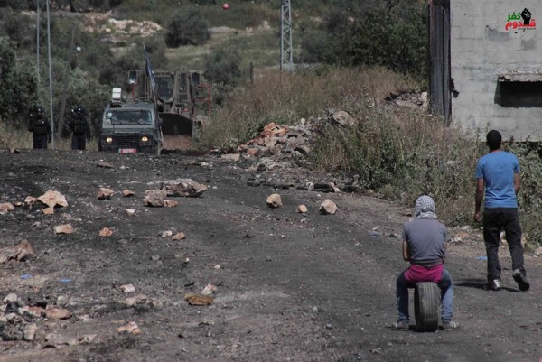Israeli forces ready to shoot at demonstration in Kafr Qaddum