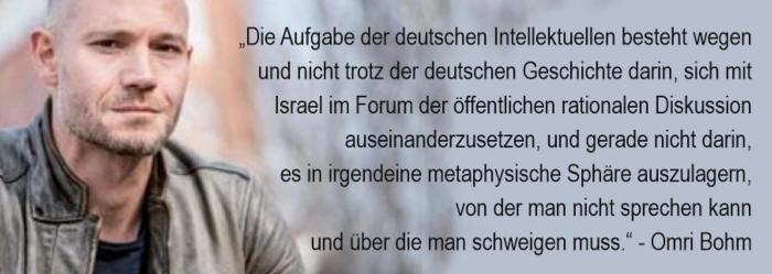 Omri Bohm - Israel - eine Utopie