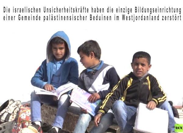 """Bildergebnis für schüler schule palästina zwerstörung"""""""
